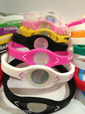 POWER BALANCE WRISTBAND - DIFFERENT SIZES AND COLOURS - ENERGY BRACELET BAND