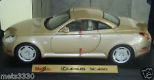 MAISTO LEXUS 2001-2005 SC430 SPECIAL EDITION DIE CAST COUPE TOYOTA with box