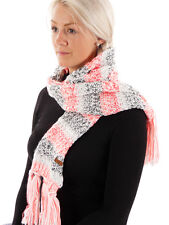 Protest Scarf Neck warmer Knit scarf Mowicko white Pattern warming