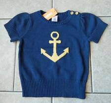 Size 7,8 years Sweater Gymboree,Cape Cod Cutie,short sleeve sweater,anchor,NWT