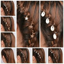 Elegant Women Alloy Various Style Hair Clip Pigtail Bobby Pin Hair Accessories