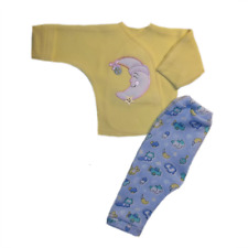 Baby Boys' Smiling Moon Pants and Shirt Clothing  - 4 Preemie and Newborn Sizes