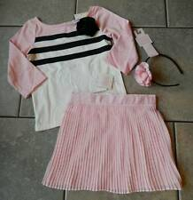 Sz 5 yrs Outfit Janie and Jack Art Deco Darling,skirt,top,headband,NWT,3pc. set