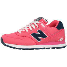 New Balance WL 574 POP Women's Shoes pink blue WL574POP Trainers blush pink navy