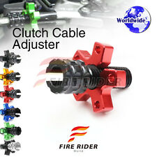 FRW 6Color CNC Clutch Cable Adjuster For Triumph Daytona 600 / 650 04-05 04 05