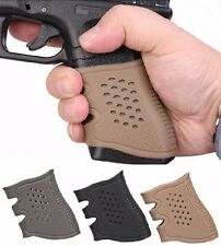 Universal Handgun Pistol Rubber Grip Tactical Anti Slip Grip Glove For Glock New