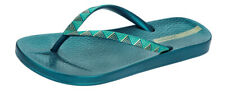 Ipanema Metallic III Womens Flip Flops / Sandals - Blue Gold - 81454
