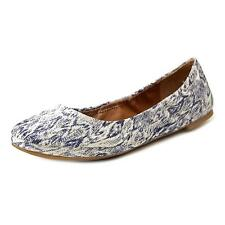 Lucky Brand Emmie  W Round Toe Canvas  Ballet Flats