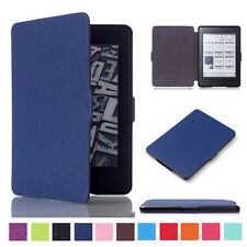 Smart Wake Up PU Leather Case Cover Shell For Amazon Kindle Paperwhite eReader