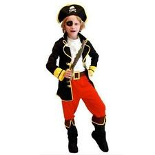 Boy Girl Kids Pirate Costume Fancy Dress Jack Buccaneer Halloween Outfit Boys U6