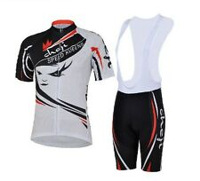 Cycling Bike Women Clothing Suit Bicycle Short Sleeve Jersey + Bib Shorts S-2XL