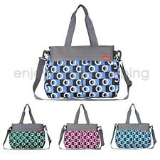 Mother Mummy Tote Baby Nappy Diaper Changing Maternity Shoulder Bag Set w/Mat