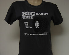 NEW Girls Juniors DAVID & GOLIATH Big Daddy Tires We'll Mount Anything T-Shirt