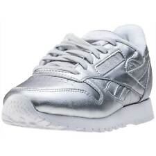 Reebok Classic Spirit Womens Trainers Silver New Shoes