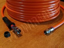 1-50' RG6 Quad-Shield DIRECT BURIAL UG coaxial TV F cable 3GHz HD internet ORG