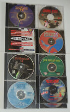 SCARCE Lot PC Video Games WOLFENSTEIN CD SAMPLER AVIATOR TOP GUN GOLF Computer