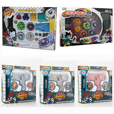 Metal Masters Fusion Top Fight Rapidity Rotate Spin Launcher Beyblade Battle Set
