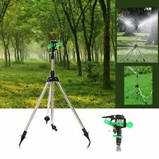 Practical Tripod Impulse Sprinkler Pulsating Telescopic Watering Grass Lawn Yard
