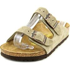 Birkenstock Arizona Toddler N Open Toe Suede Tan Slides Sandal NWOB