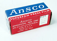 ANSCO 116 SUPERPAN PRESS, EXPIRED JULY 1953/170573