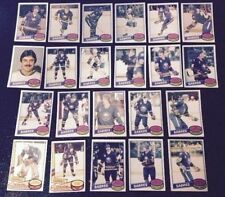1980-81 OPC BUFFALO SABRES Select from LIST NHL HOCKEY CARDS O-PEE-CHEE