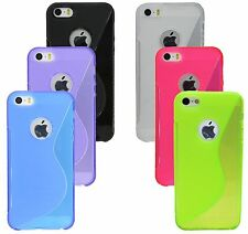 Silicone Case Cover cover Case for Iphone SE + Screen Film