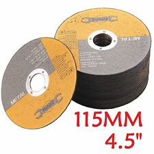 "115mm 4.5"" Flat/Angle Grinder Grinding thin Stainless Steel Metal Cutting Disc"