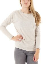 O'Neill Long sleeve Top Summer shirt Vibe white Crew neck stretch