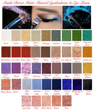 MINERAL NATURAL PURE MAKEUP MATTE LOOSE EYESHADOW EYE LINER SHADOW TRAVEL SIZE