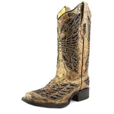 Corral R1226 Women  Square Toe Leather Brown Western Boot