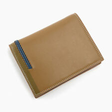 New Fashion Slimfold Purse Men's Genuine Leather Bifold Wallet