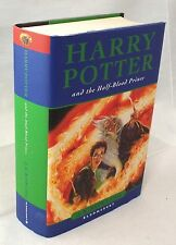 HARRY POTTER AND THE HALF-BLOOD PRINCE First Edition first print w/ errors - K01