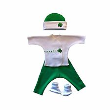 Luck of the Irish Baby Boy Clothing Outfit Set - 4 Preemie & Newborn Sizes!