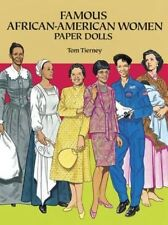 NEW Famous African-American Women Paper Dolls by Tom Tierney Paperback Book (Eng