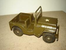 Vintage Tonka GR2-2431 Army Jeep in Very Good Condition Original Vintage Tonka