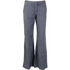 French Connection Bootcut FCUK Jeans Denim Linen Flare Trousers Size  Womens