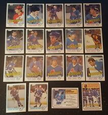 1981-82 OPC QUEBEC NORDIQUES Select from LIST NHL HOCKEY CARDS O-PEE-CHEE
