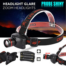 3000LM CREE XM-L Q5 LED Headlamp Tactical Headlight Flashlight Head Light Lamp