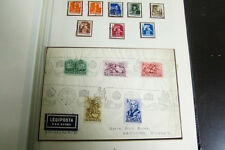 Topical Stamp Collection of Horses in Album Unusual Early