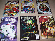6 x Justice society of America comic issues 25 27 28 29 30 31 dc comics