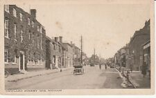 Old Postcard Newland Street  No 2 Whitham Sussex Street Scene