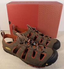 KEEN 1008667 MEN'S CASCADE SHITAKE BOMBAY BROWN SPORT SANDALS NEW IN BOX