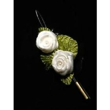 Jwel U hair Rose flower small x2 VARIOUS COLOURS *SALE* hair / crafts