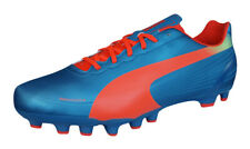 Puma evoSPEED 4.2 AG Mens Soccer Cleats / Boots - blue