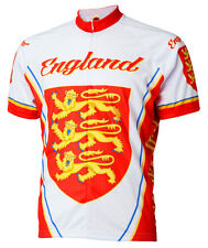 World Jerseys England Cycling jersey Mens bike bicycle United Kingdom UK Britain