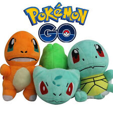 Cute Pokemon Bulbasaur Charmander Squirtle Animal Soft Plush Doll Kids Toy Gift