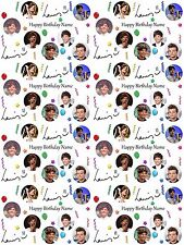 Louis Tomlinson Personalised Birthday Gift Wrapping ADD NAME/S CHOOSE BACKGROUND
