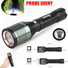 3000LM Zoomable XML Q5 LED 18650 Flashlight Torch Super Bright Lamp Light 3 Mode