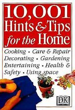 10,001 Hints and Tips for the Home (Hints & Tips), DK Publishing, Good Book