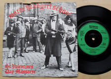 "MOTORHEAD/GIRLSCHOOL ST. VALENTINES DAY MASSACRE 7"" COVER IS WORN/RAGGY AT THE T"